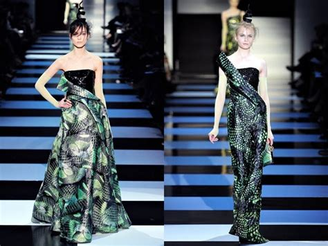 Runway Report Armani Prive Couture by Runway Report Haute Couture Fashion Week Armani