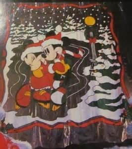 mickey minnie mouse vinyl shower curtain
