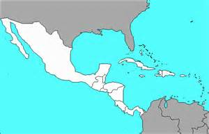 south and central america blank map maps