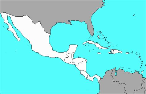 map of mexico quiz map quiz countries middle america