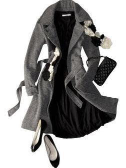 A Salt Pepper Tweed Trench From Navy Adds Style To Even The Most Challenged Budget Fashiontribes Fashion fashiontribes a salt pepper tweed trench from navy