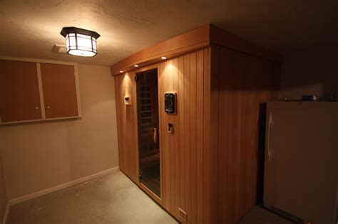 Keller Sauna by Sauna In Basement