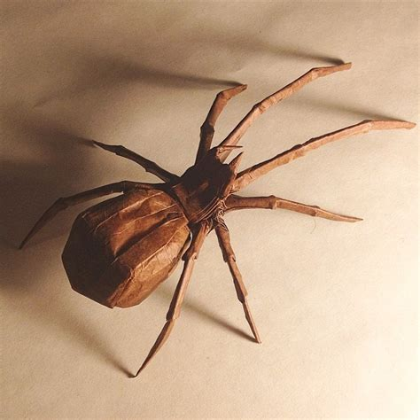 Origami Spider - 30 frighteningly fantastic origami models