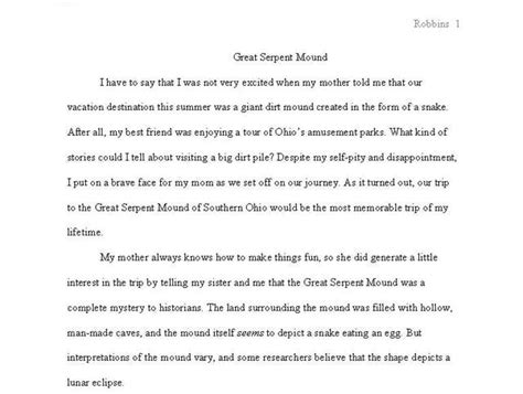 High School Research Paper Layout by High School Term Papers Science Fair Data Analysis