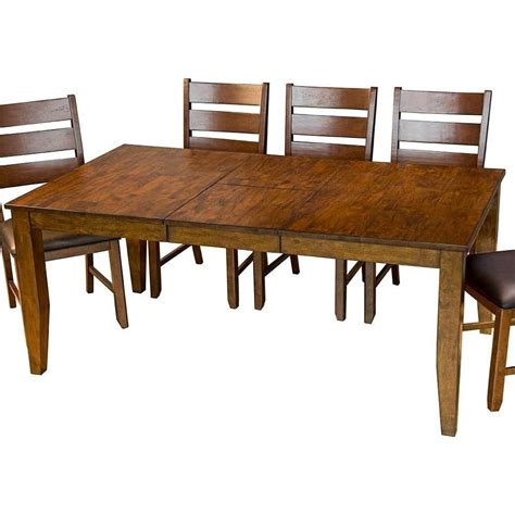 rectangular dining room tables with leaves aamerica mason rectangular butterfly leaf dining table