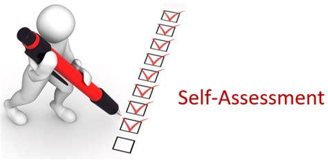 self assessment study self assessment get certified get ahead