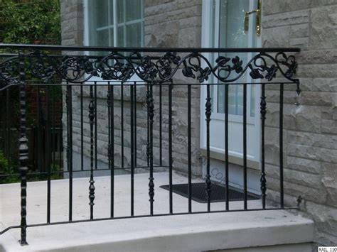 wrought iron railing clean the decorative wrought iron railing crowdbuild for