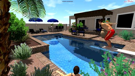 cool houses with pools cool pools contracting tucson