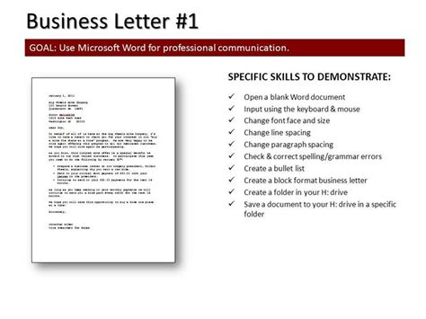Business Letter Format Date On Right writing a business letter in right format