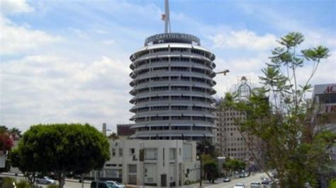 Building Records Capitol Records Tower Right Of And Vine Picture Of Capitol Records
