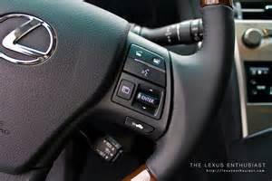 2010 lexus rx 450h steering wheel controls