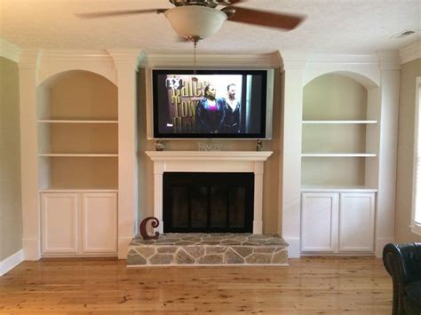 bookshelves next to fireplace cabinet and shelves beside fireplace for the home shelves living rooms and