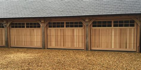 wooden sectional garage doors wooden garage cdc garage doors