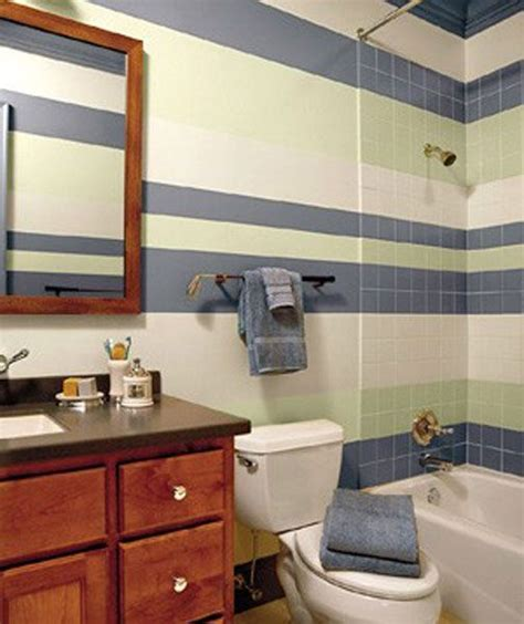 striped bathroom walls striped wall a collection of home decor ideas to try