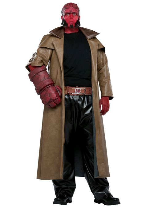 halloween costumes adult hellboy costume