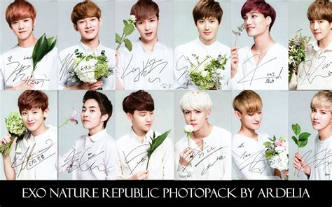 wallpaper exo nature republic photopack exo nature republic by ardeliaexotics on