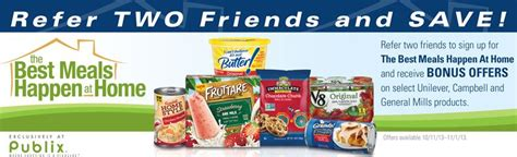 publix best meals happen at home coupons 8 in coupons