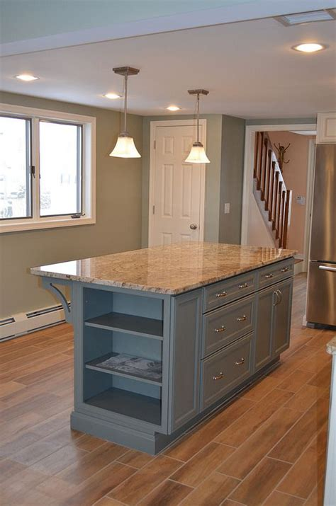 kitchen island with shelves 41 best images about benchtops on pinterest