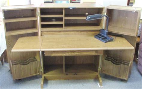 hide a desk lot detail awesome hide a desk it looks like a cupboard but it opens turns into a desk