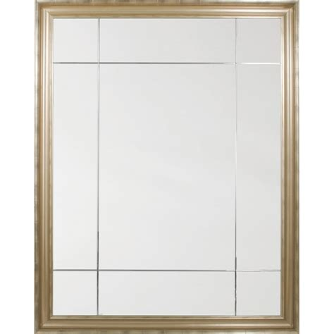 mirror image home chagne nine panel mirror