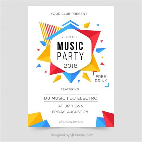 colorful posters modern colorful poster design for festival vector