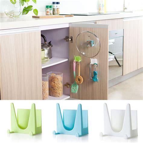 Rak Dapur rak mini gantungan peralatan dapur blue