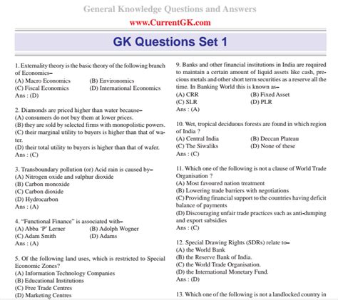 Guyana Fastis 2018 Geography Gk Questions In Pdf 28 Images Geography Gk