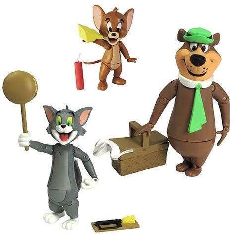 Tom And Jerry Papercraft - barbera tom jerry and yogi figures set
