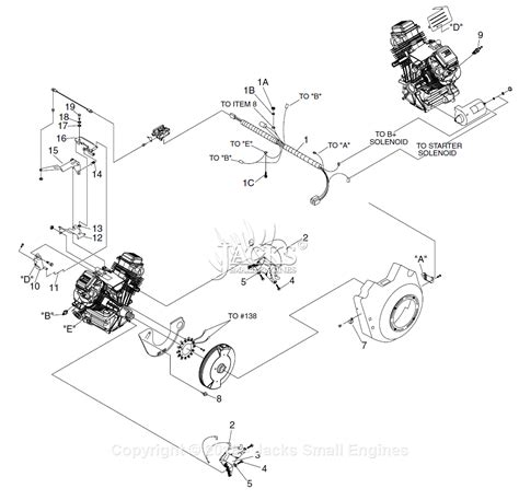 generac   gtv parts diagram  governorelectric