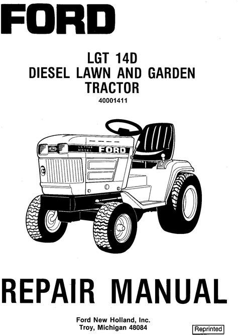 ford lgtd diesel lawn  garden tractor complete