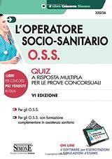 Libri Per Concorsi Oss Operatori Socio Sanitari
