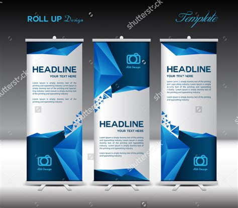 blue sky social media templates download free templates 21 roll up banners free psd ai vector eps format