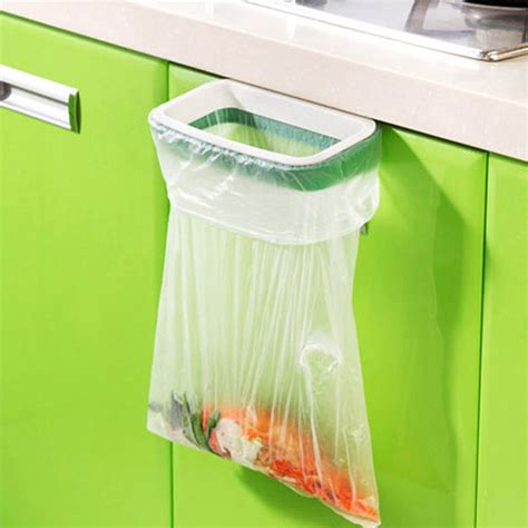 2016 1pcs cupboard door back trash rack storage garbage