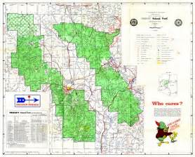 arizona forest road map prescott national forest road map