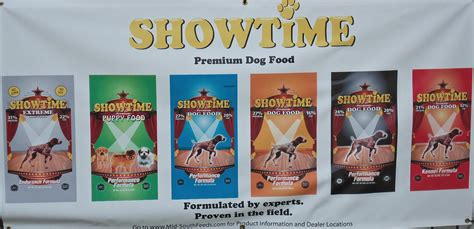 showtime food showtime banner and fishing country