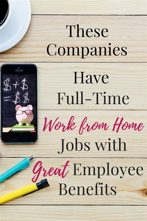 time work from home with benefits