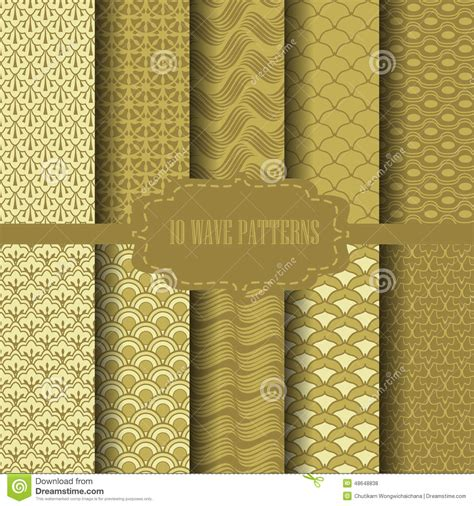 chinese gold pattern vector chinese gold pattern stock vector image 48648838