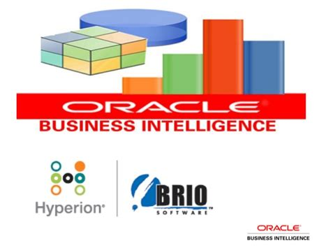 brio business intelligence executive user interface oracle demo saic in progress samples