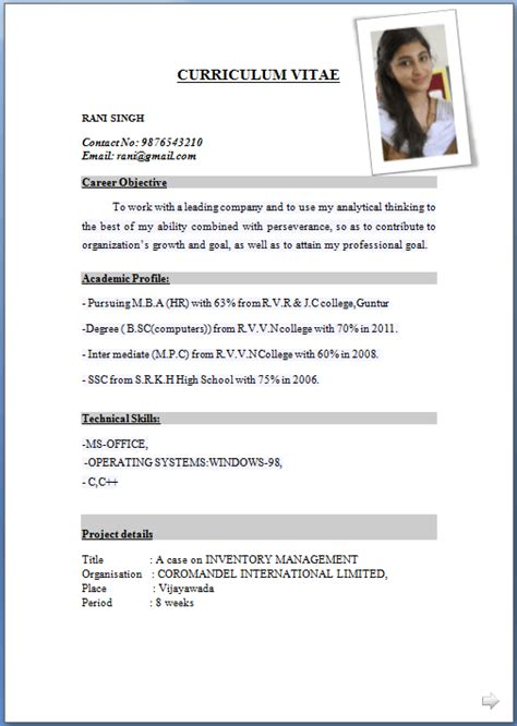 best free cv formats to make you stand out to employers