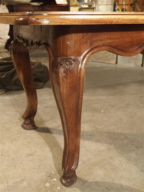 unusual antique french walnut wood dining table mid stdibs