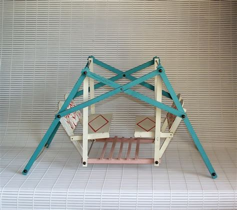 vintage swing vintage swing your baby wooden doll glider swing set