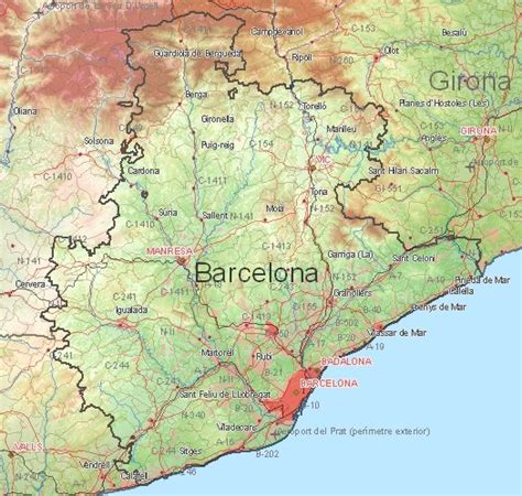 5 themes of geography barcelona cities and car trip vacation to barcelona and girona