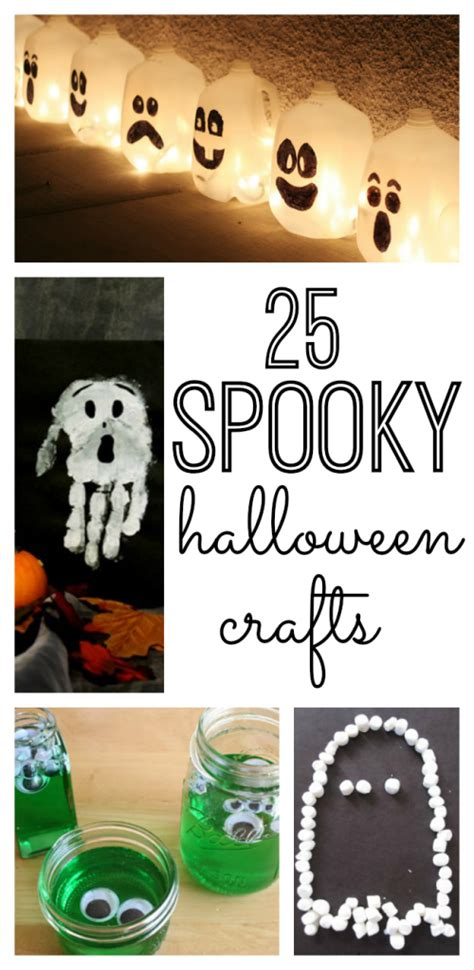 spooky crafts activities my and