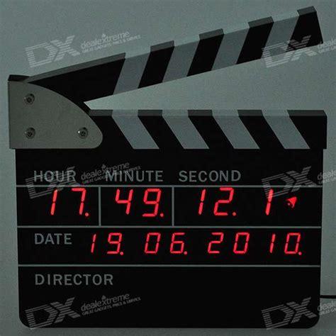 Buy Cheap Home Decor cheap cool movie film action board clock 220v ac
