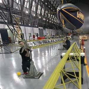 akron beacon journal sports section goodyear gets a lift as work begins on new blimp fleet