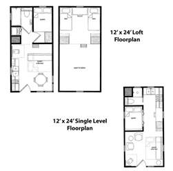 12x24 cabin floor plans tiny home cabins finished right contracting