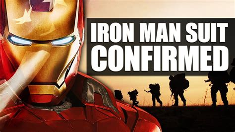 army real life iron man suit youtube