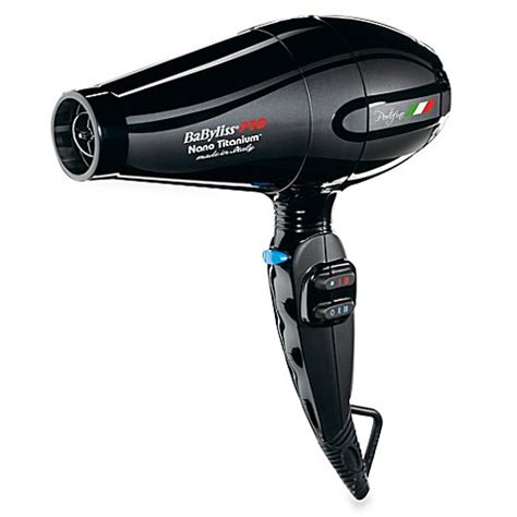 Babyliss Pro Hair Dryer babyliss 174 pro nano titanium portofino dryer in black
