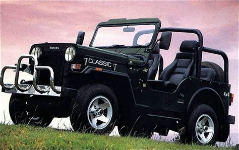 Mahindra Model Jeep In India