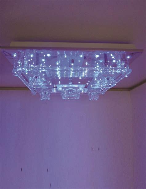 Led Ceiling Lights Australia Lighting Australia Clear Acrylic Glass Mount Led Ceiling In Chrome Lighting Avenue